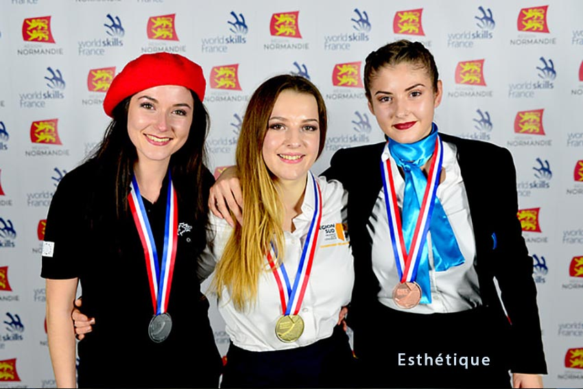 olympiade-metiers-2018-esthetique-Marine-Trottereau